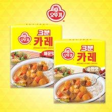 [오뚜기] 3분 카레 매운맛 12팩 + 순한맛 12팩 (팩당 200g)