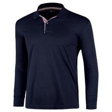 [파파브로]남성 국산 긴팔 체크 카라 티셔츠 LM-A9-L99-PK-진네이비