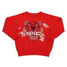 [겐조키즈] 타이거 KP15128 38 8A12A 키즈 긴팔 기모 맨투맨 티셔츠 (성인착용가능)
