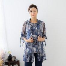 마담4060 엄마옷 가로세로앙상블-ZEN004006-
