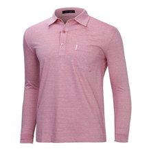 [파파브로]남성 국산 스트라이프 카라 면 티셔츠 LM-A9-212-레드