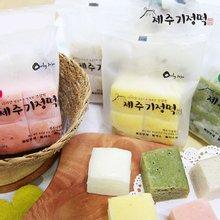 [제주기정떡] 자연발효 건강떡 혼합(개별포장)(5가지맛)1.9kg/ 총 64조각