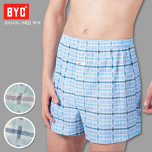 [BYC] 남성 모시메리 3매입 박서/COOL한 소재/트렁크/박서/신상디자인발송