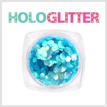 엘리카 홀로글리터 육각2mm(오팔블루) -H133-