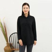 마담4060 엄마옷 올록볼록반오픈티셔츠-ZDTE910007-