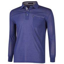[파파브로]남성 국산 인견 카라 티셔츠 LM-A9-280-네이비