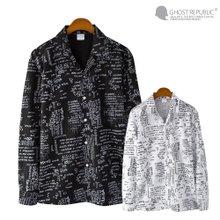 고스트리퍼블릭 M2SH5-68WH 스펠 린넨 셔츠