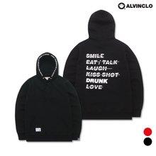 [앨빈클로]AVH-119 WONDERFUL 기모 후드티셔츠