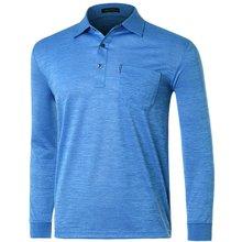 [파파브로]남성 국산 스트라이프 카라 티셔츠 LM-A9-252-블루