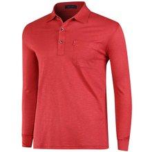 [파파브로]남성 국산 패턴 카라 티셔츠 LM-A9-257-레드