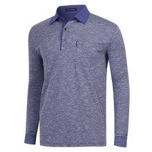 [파파브로]남성 국산 패턴 카라 면 티셔츠 LM-A9-301-네이비