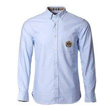 [버버리] 엠브로이더리 체크 코튼 옥스퍼드 셔츠 8008758 M HARRY CREST A1647 /135881