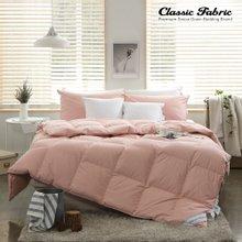 핑크 거위털이불 3000g+이불커버 퀸세트