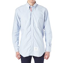 [톰브라운] 옥스포드 히든 삼선 라이닝 MWL010E 00139 480 남성 셔츠
