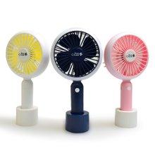 [빈크루즈] 2종구성 제니퍼 LED 선풍기 BCF-H500 (휴대용/아로마/디퓨져/핸디팬)