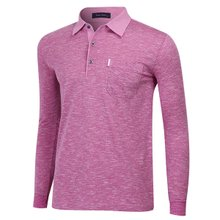 [파파브로]남성 국산 패턴 카라 면 티셔츠 LM-A9-302-자주