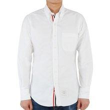 [톰브라운] 옥스포드 히든 삼선 라이닝 MWL010E 00139 100 남성 셔츠