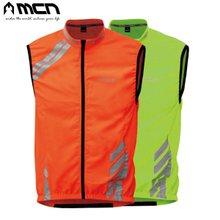 [MCN] 라이딩 안전조끼 오렌지,그린/자전거의류