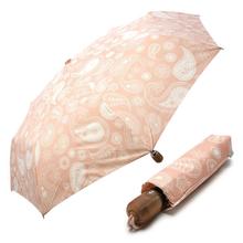 [VOGUE] 보그 3단 자동 우산(양산겸용) - 페이즐리 (코럴핑크)