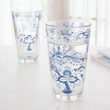 쯔비벨무스터 강화 유리컵 음료잔 2P (믹싱컵/맥주잔 선물세트)