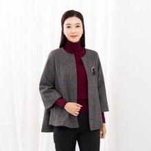 마담4060 엄마옷 언발체크자켓-ZJK910019-