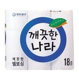 [깨끗한나라] 엠보싱 화장지 (45M*18롤)