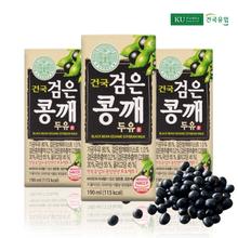 [건국] 검은콩깨두유 96팩 (190mlx24팩x4박스)