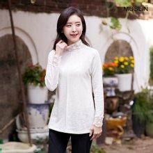 엄마옷 모슬린 레이스 페미닌 티셔츠 TP910066