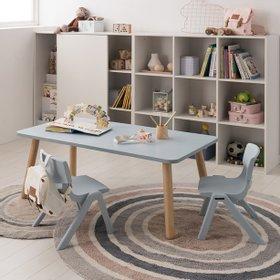 꼼므 1200 아이책상+의자 세트 (핑크/블루)
