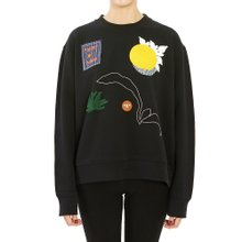 [토리버치] 엠브로이더드 56565 001 여자 긴팔 맨투맨 티셔츠