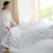 [바자르] 로즐리 여름 엠보 누빔 이불베개세트+패드(Q)