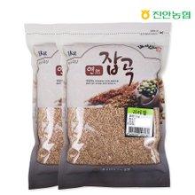 [진안농협] 연잡곡 귀리쌀 1kg x 2봉