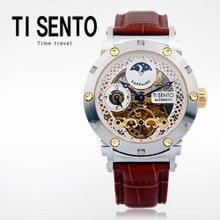 티센토(TI SENTO) 남성시계(TS50051GDBR/가죽밴드/오토매틱/본사직영)
