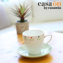 [까사미아까사온]더본그린마인 커피잔1인조