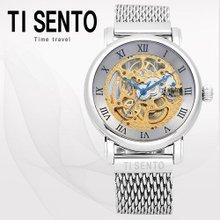 티센토(TI SENTO) 남성시계(TS50061WS/메탈밴드/오토매틱/본사직영)