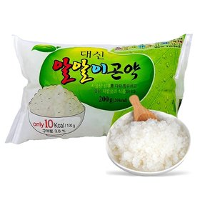 [대신곤약] 알알이 곤약쌀 200gX30팩, 밥지을 때 넣기만 하면 칼로리가 반으로!