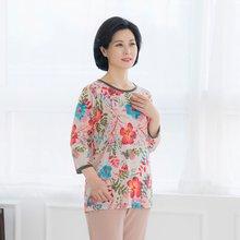 마담4060 엄마옷 나의정원티셔츠-ZTE003081-