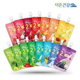 더존건강 한끼 곤약젤리 11종 20팩 / 복숭아,석류,청포도,체리,수박,풋사과 등 맛 선택