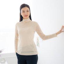 엄마옷 마담4060 레이어드폴라티셔츠-ZTE002028-