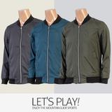 [마운틴가이드]봄여름 등산복/단체복/등산점퍼/남성 블루종 바람막이 자켓 ACM-J8149