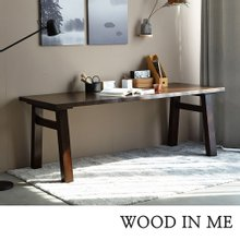 우드인미 애쉬원목 서재 원목책상 테이블 1800_T40/원목식탁/우드슬랩/카페테이블