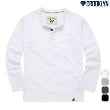 [크루클린] 2P 헨리넥 긴팔 티셔츠 THL713