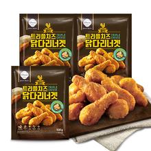 [올반] 트리플치즈 닭다리너겟 500g*3팩