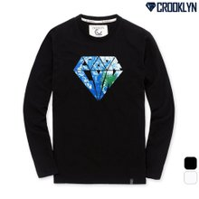 [크루클린] 다이아몬드 긴팔 티셔츠 TRL701