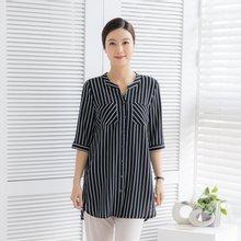 마담4060 엄마옷 차이나카라셔츠-ZBL004041-