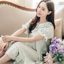 [PO1304] 민트코랄 [여성] 반소매원피스/여성잠옷