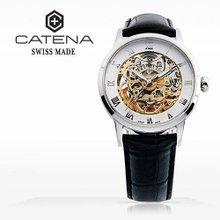 카테나(CATENA) 오토매틱 남성가죽시계 (CA018-BA/본사정품 백화점AS가능)