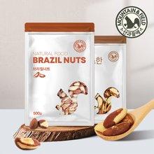[산과들에] 브라질너트 500g x2봉+300g x3봉 (총1.9kg)