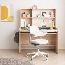 꼼므 1200 각도조절 책상세트+그로잉 의자 세트(무회전,발받침)