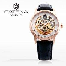 카테나(CATENA) 오토매틱 남성가죽시계 (CA018-2BA/본사정품 백화점AS가능)